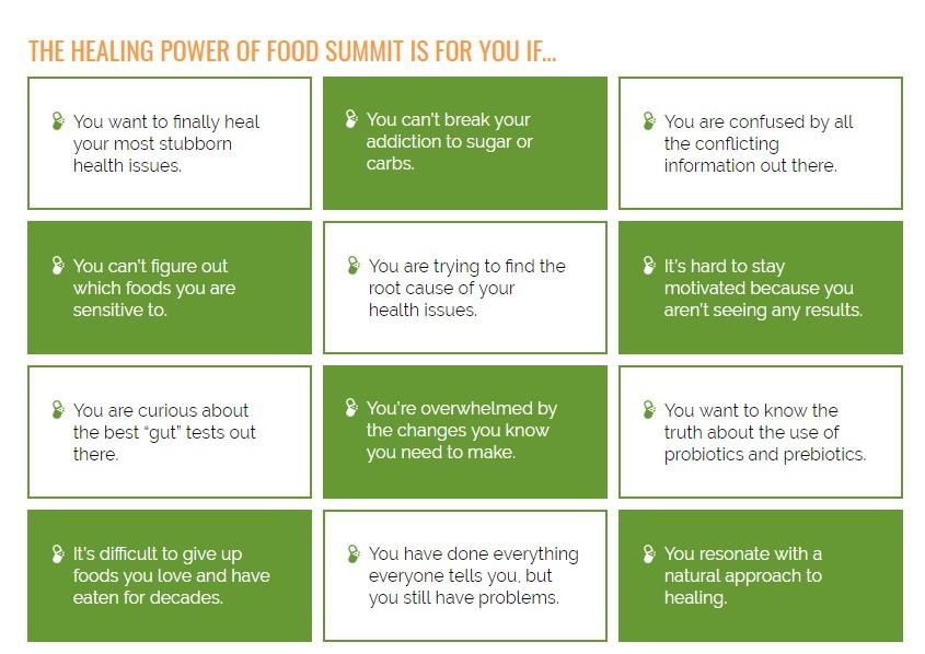 healing power of foods summit michael murray