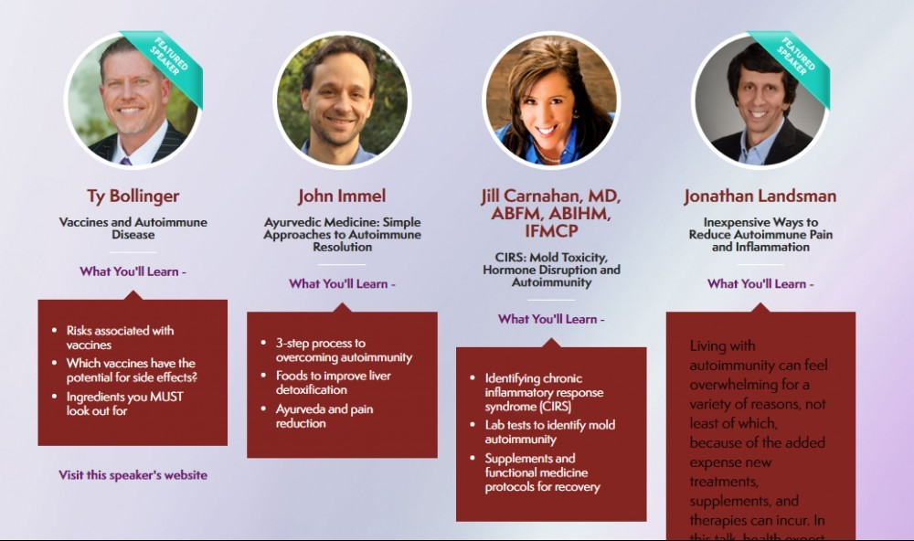 autoimmune revolution speakers